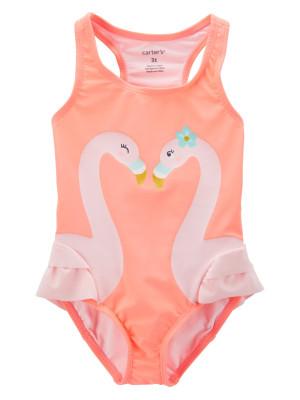 Carter's Costum de baie flamingo