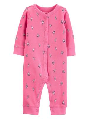 Carter's Pijama cu capse și flamingo