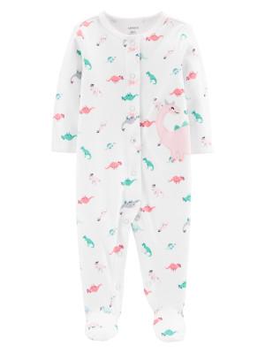 Carter's Pijama cu capse Dinozaur 100% bumbac