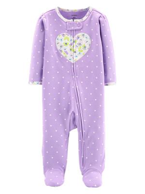 Carter's Pijama mov cu buline