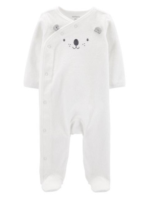 Carter's Pijama bebe Koala cu capse laterale