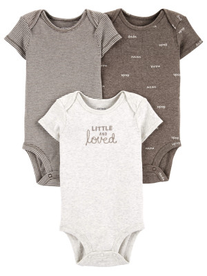 Carter's Set 3 piese body dungi/slogan