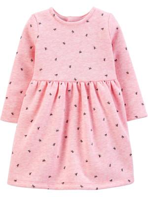 Carter's Rochiță roz cu fundițe