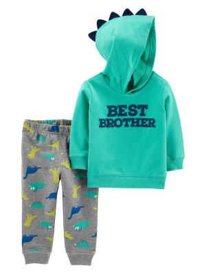 Carter's Set 2 Piese hanorac & pantaloni Cel mai bun frate