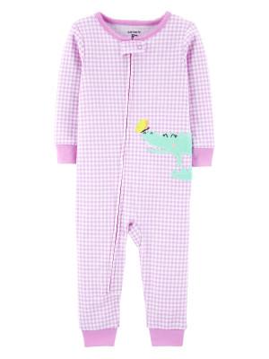 Carter's Pijama cu fermoar bebe Aligator