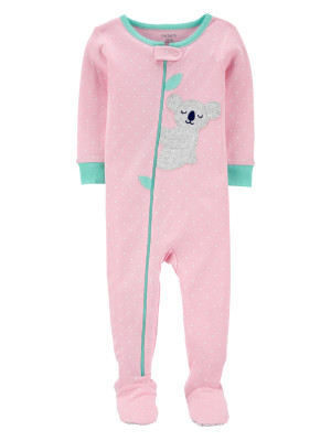 Carter's Pijama roz bebelus Koala