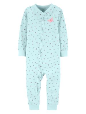 Carter's Pijama cu Inimioare 100% Bumbac Organic