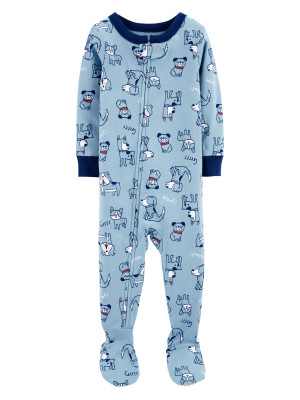Carter's Pijama bebe albastra Catei