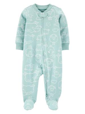 Carter's Pijama cu fermoar reversibil bebelus Oite