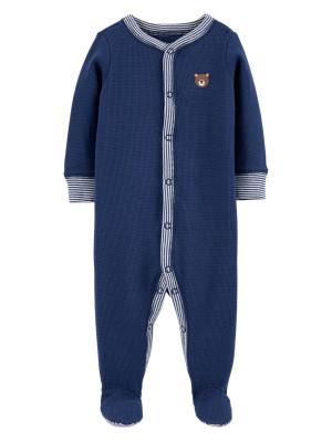 Carter's Pijama bleumarin bebe  Ursulet