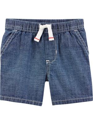 Carter's Pantaloni scurți cu șnur în talie 100% bumbac