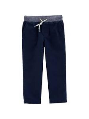 Carter's Pantaloni lungi cu șnur în talie 100% bumbac