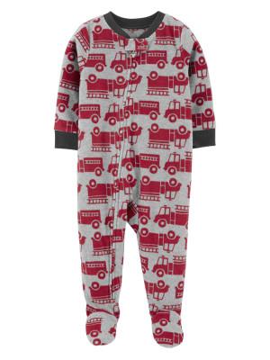 Carter's Pijama Pompier cu fermoar