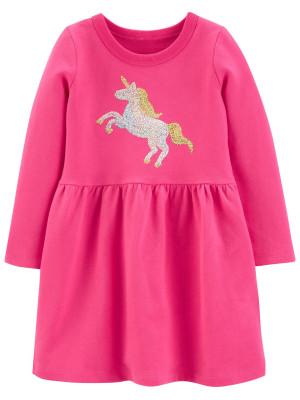 Carter's Rochita cu paiete Unicorn