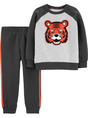 Carter's Set 2 piese Tigru bluză & pantaloni