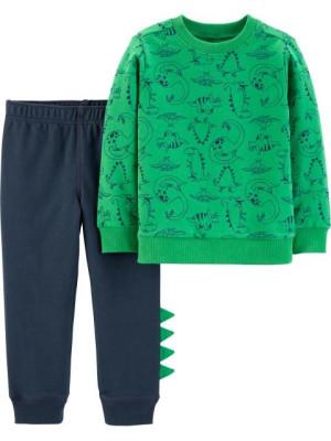 Carter's Set 2 Piese Dinozaur bluză & pantaloni