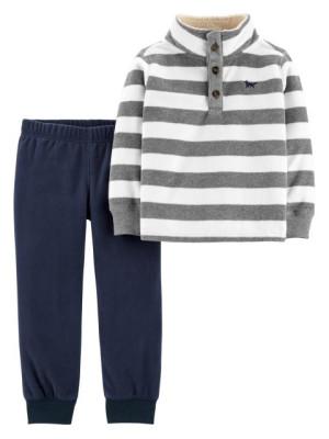 Carter's Set 2 Piese Fleece pantaloni & bluza