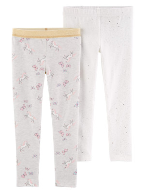 Carter's Set 2 pantaloni, unicorni