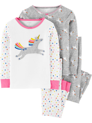 Carter's Set 2 pijamale Unicorn