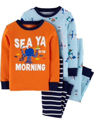 Carter's Set 2 pijamale creaturi marine