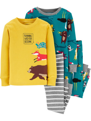 Carter's Set 2 pijamale Animalute