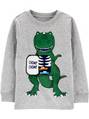 Carter's Bluza interactiva Dinozaur
