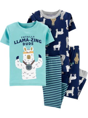 Carter's Set 2 pijamale Lama