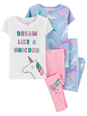 Carter's Set 2 pijamale cu Unicorn