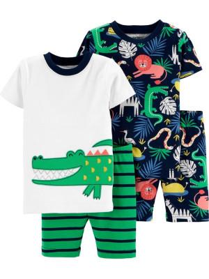Carter's Set 2 pijamale cu aligator