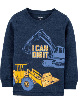 Carters Bluza Excavator