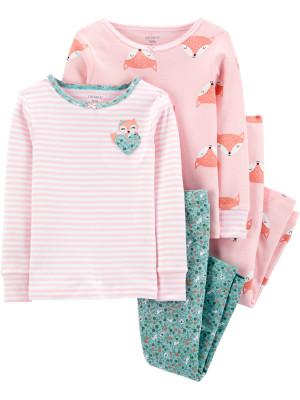 Carter's Set 2 pijamale Vulpe