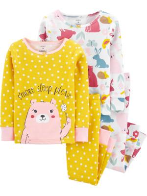 Carter's Set 2 pijamale Inimioare
