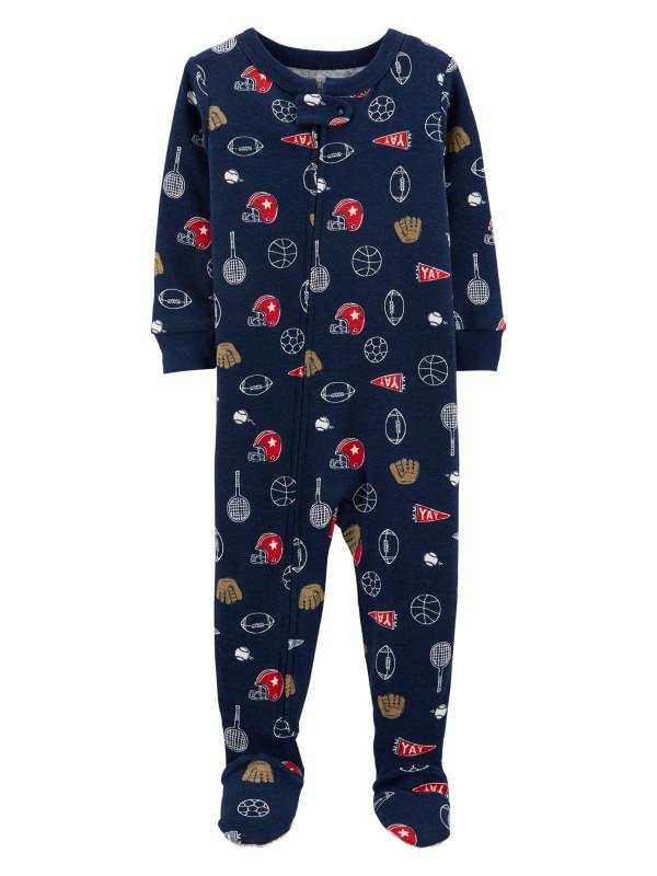 Carter's Pijama bleumarin sport