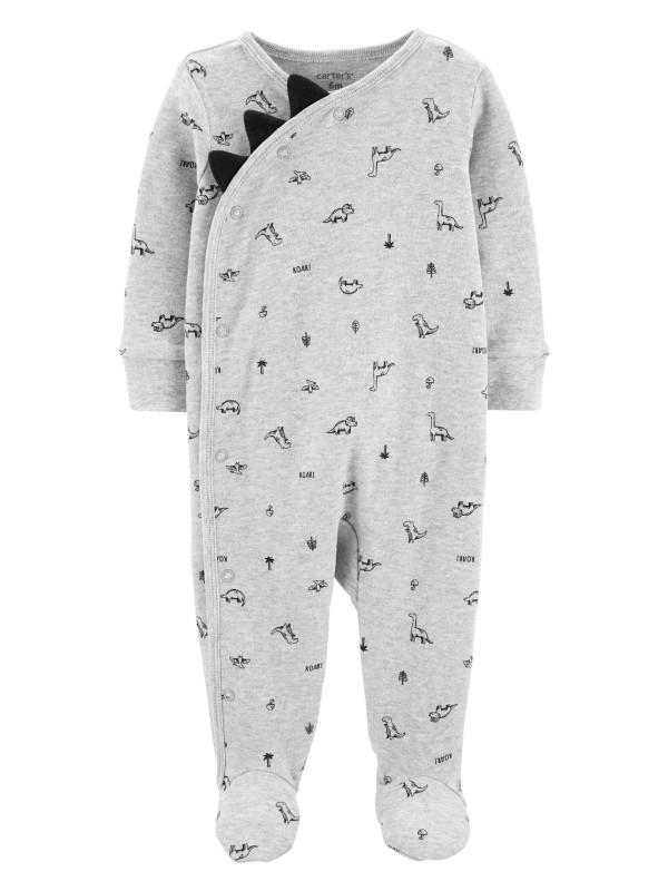 Carter's Pijama Dino cu inchidere laterala