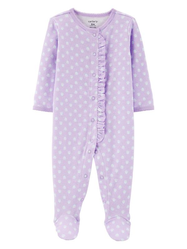 Carter's Pijama bebe cu volanas