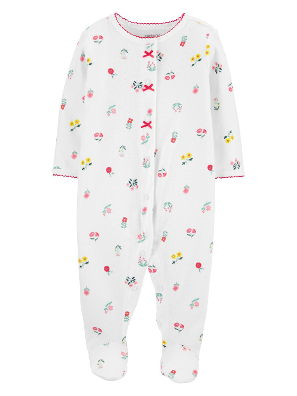 Carter's Pijama floricele