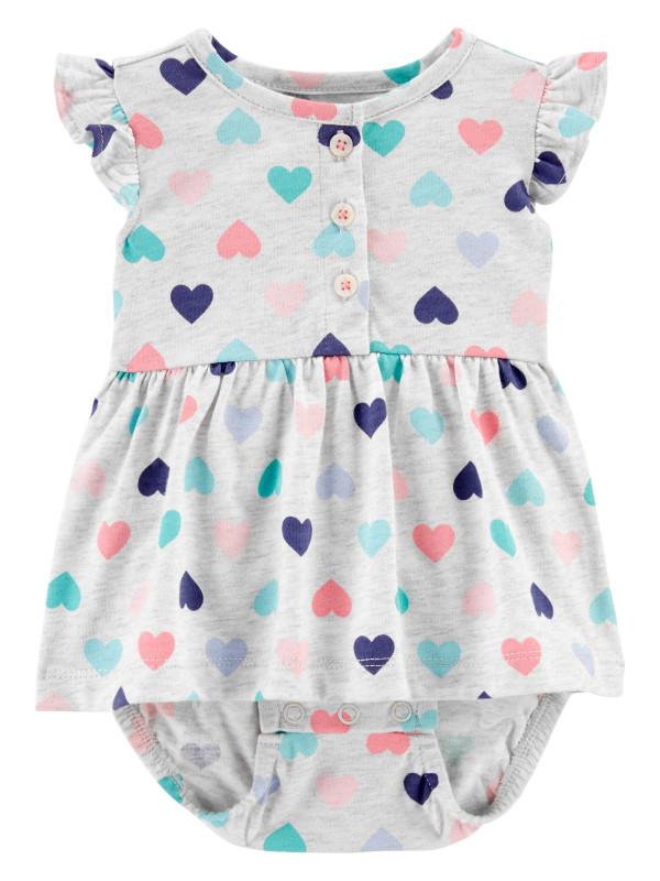 Carter's Body tip rochiță Inimioare