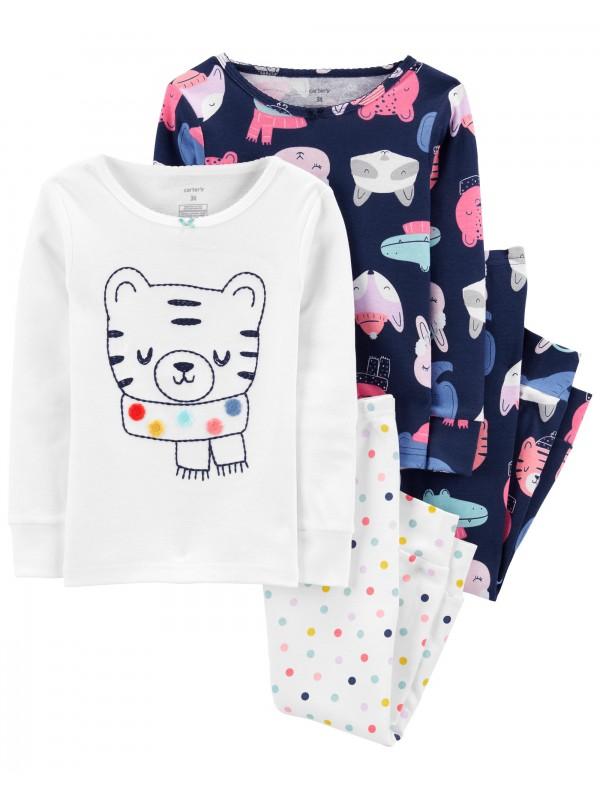 Carter's Set 2 pijamale Tigru