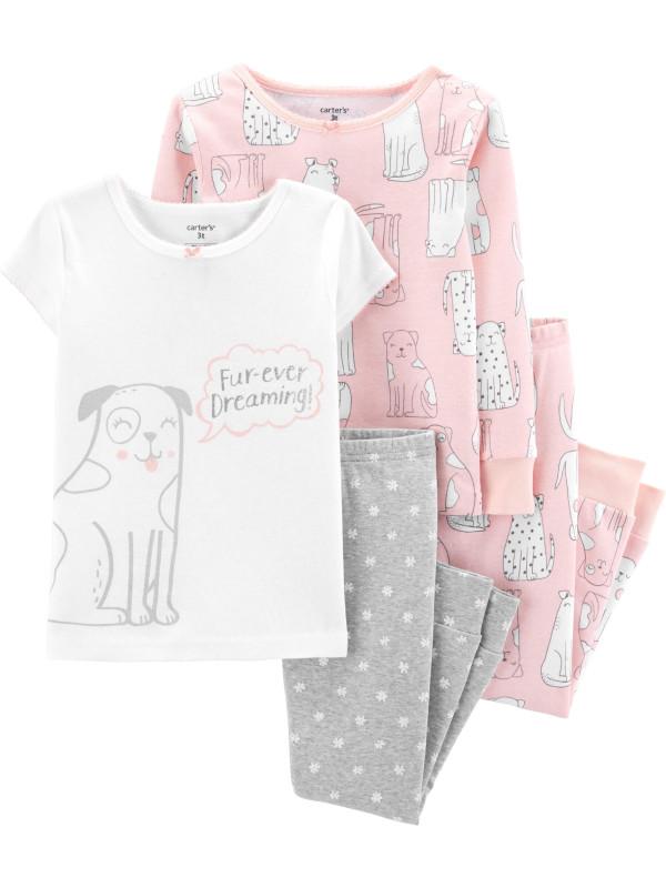 Carter's Set 2 pijamale Cățel