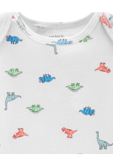 Carter's Set 3 Piese Dinozaur 2 body & pantaloni lungi