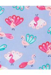 Carter's Set 2 pijamale Paun