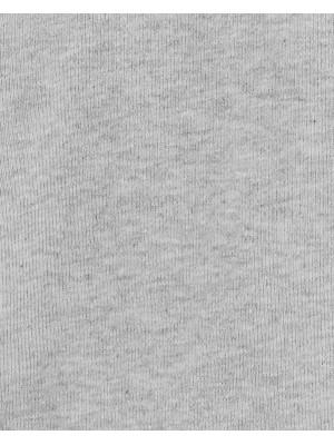 Carter's Set 4 bluzite bebe cu inchidere laterala gri