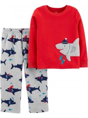 Carter's Pijama 2 piese Rechin
