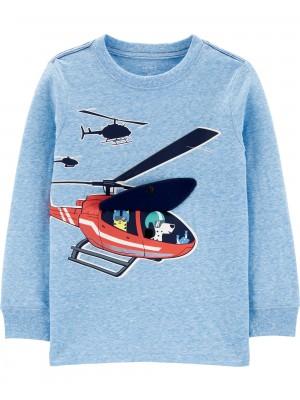Carter's Bluza interactiva Elicopter