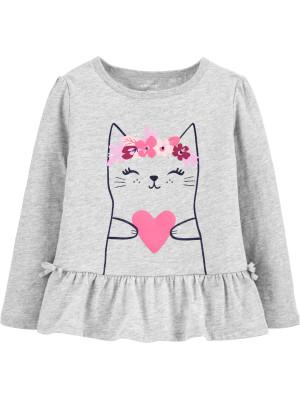 Carters Bluză Pisica