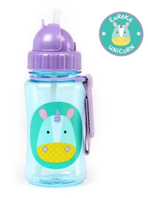 Skip Hop Sticla cu pai Zoo – Unicorn