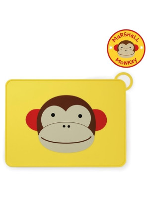 Skip Hop Suport Zoo Fold & Go din silicon - Maimutica